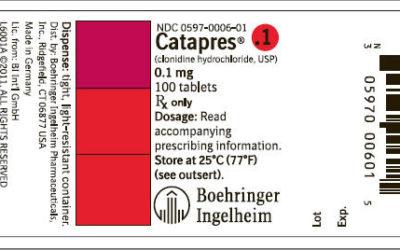 Catapres (Clonidine Hydrochloride)
