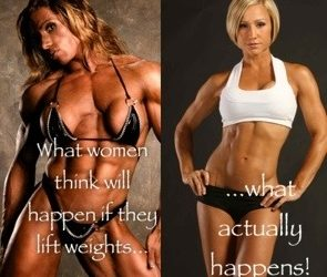 Myths about Women and Weights